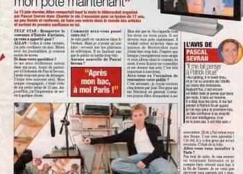 Allan Vermeer : Pascal Sevran, c'est mon pote maintenant