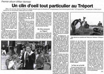 Allan Vermeer : Un clin d'oeil tout particulier au Tréport (Paris Normandie)