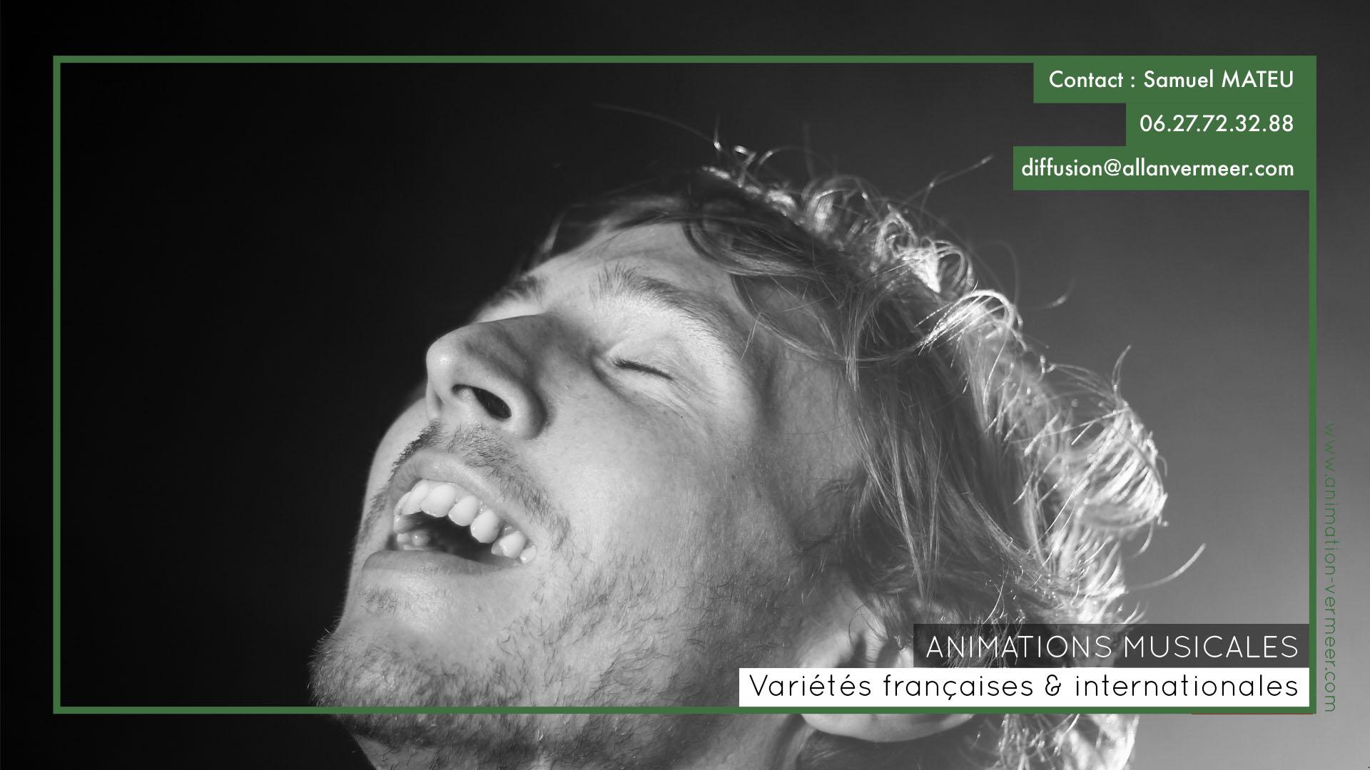 Allan Vermeer - Animation variétés françaises et internationales